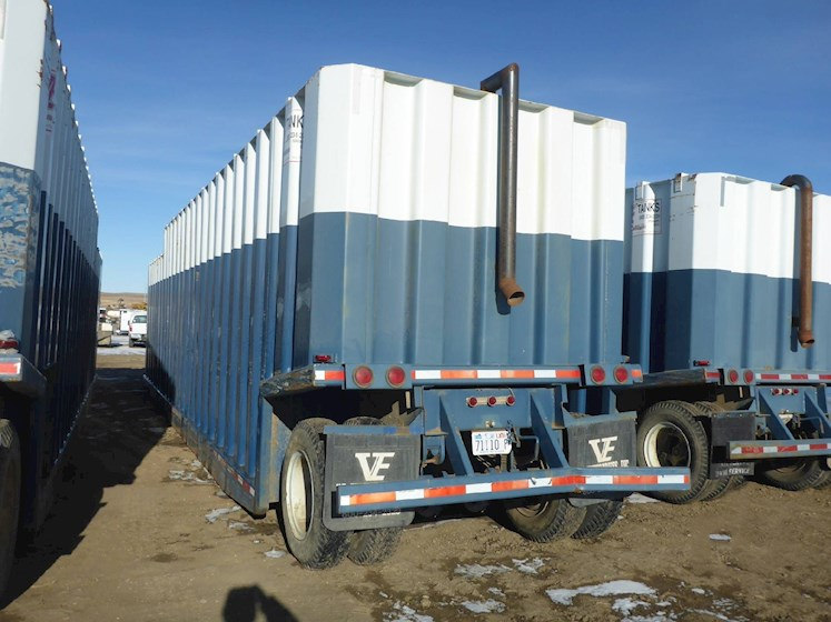 2003 VE ENTERPRISES 500 Barrel Frac Tank 2707 - VE ENTERPRISES Trailers