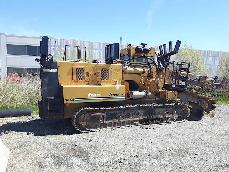 2001 Vermeer T655DT - Vermeer Other Construction Equipment